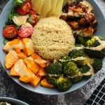 Vegan Buddha Bowl with Crispy Tofu