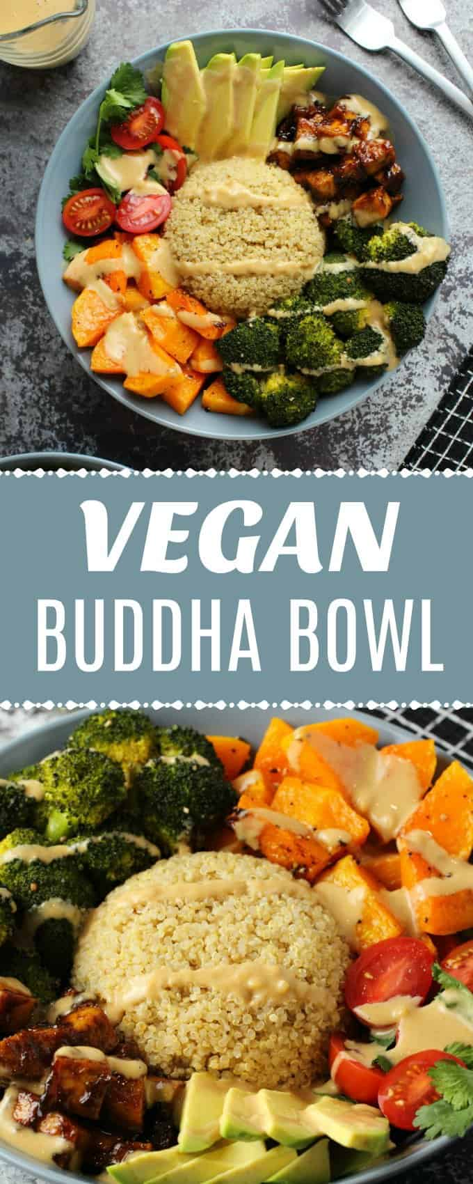Super healthy and colorful vegan buddha bowl recipe, super simple, amazingly delicious and very satisfying. Gluten-free. | lovingitvegan.com