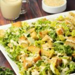 Vegan Caesar Salad with Crispy Homemade Croutons