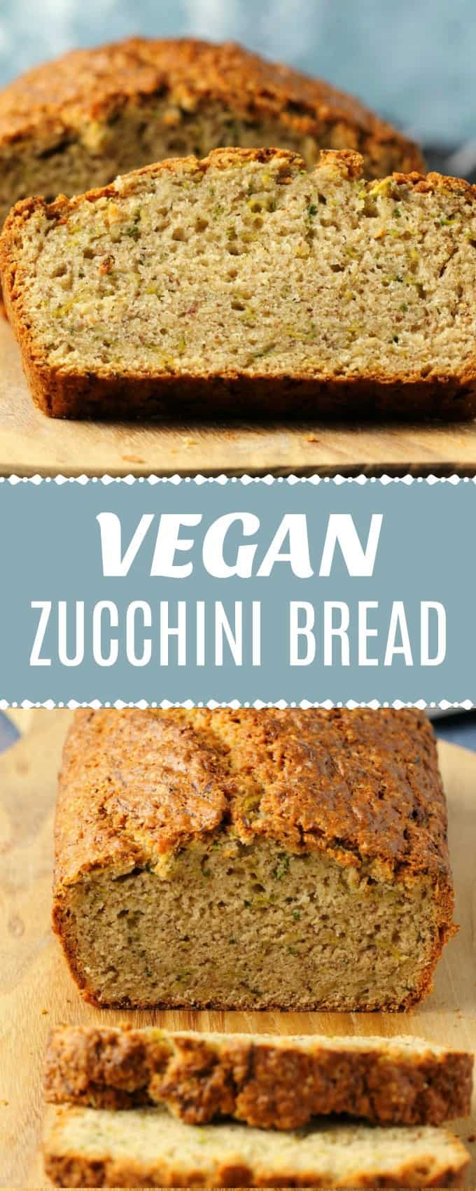 Wholesome and delicious vegan zucchini bread. Fluffy and perfectly moist you'll never suspect this delicious bread is hiding green vegetables!| lovingitvegan.com