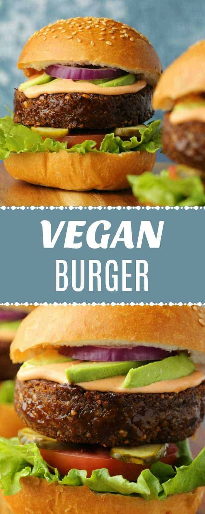 Super hearty vegan burger! Perfectly grillable, highly flavorful and extremely satisfying, this is a burger that vegans and non-vegans alike will enjoy!| lovingitvegan.com