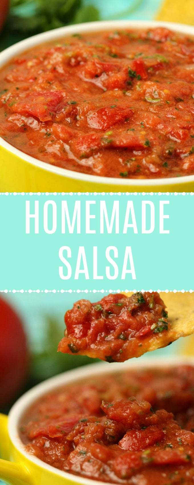 Ultra fresh restaurant-style homemade salsa. This saucy salsa is super fast and simple to prepare and makes a fabulous dip for your corn chips! | lovingitvegan.com