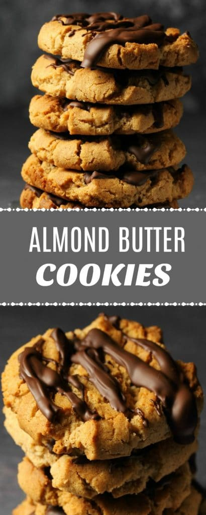 Vegan Almond Butter Cookies