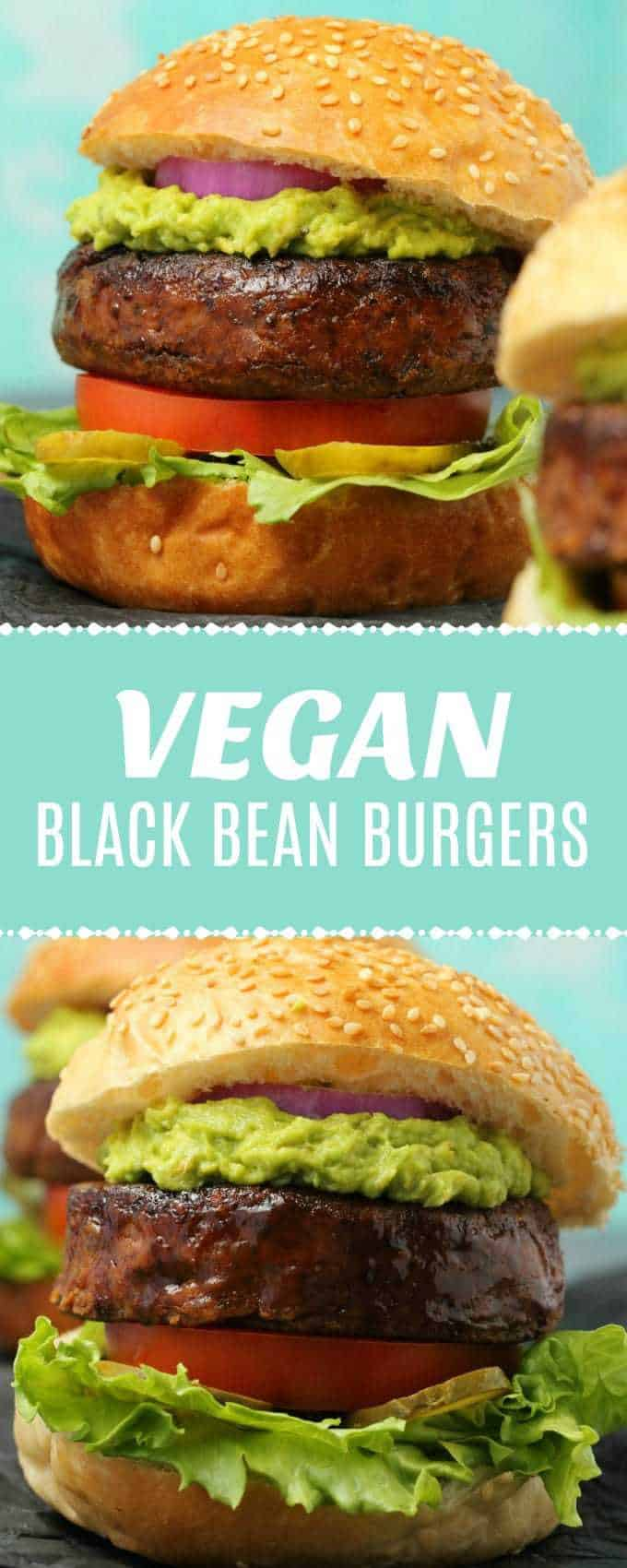 Thick and hearty vegan black bean burgers, crispy on the outside, soft on the inside, simple, savory and deliciously spiced! | lovingitvegan.com