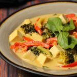 Vegan Green Curry, Creamy and Spicy!