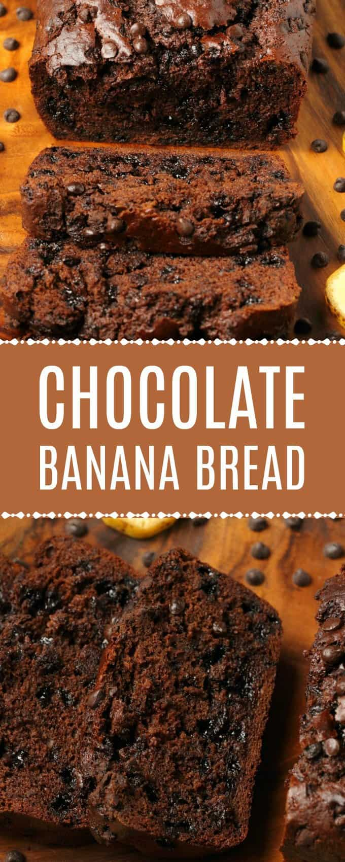 Rich double chocolate vegan chocolate banana bread bursting with chocolate and banana flavor! Moist, decadent and so easy to make, you'll be making this all the time! | lovingitvegan.com