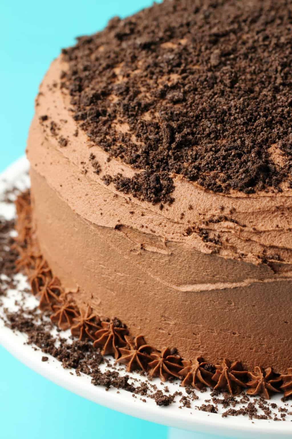 Terrific Vegan Oreo Cake Loving It Vegan Funny Birthday Cards Online Overcheapnameinfo