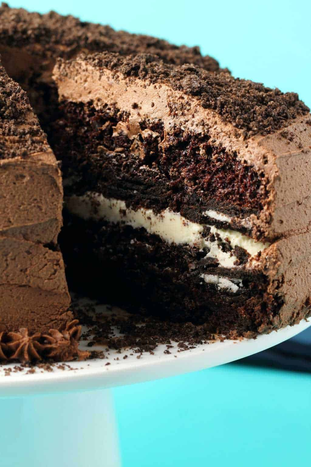 Vegan Oreo Cake Loving It Vegan