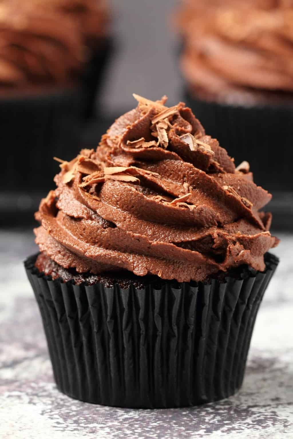 Classic Vegan Chocolate Cupcakes Recipe Loving It Vegan