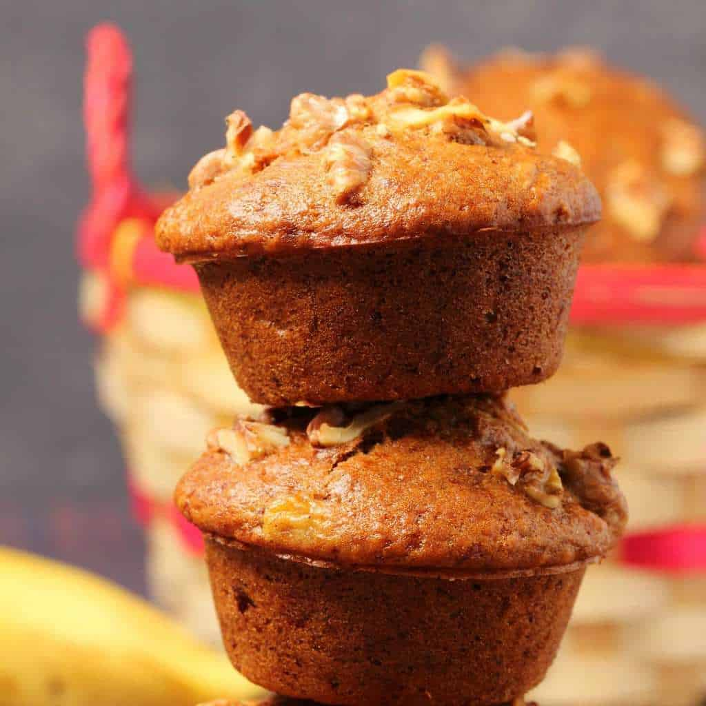 Vegan Banana Muffins Loving It Vegan