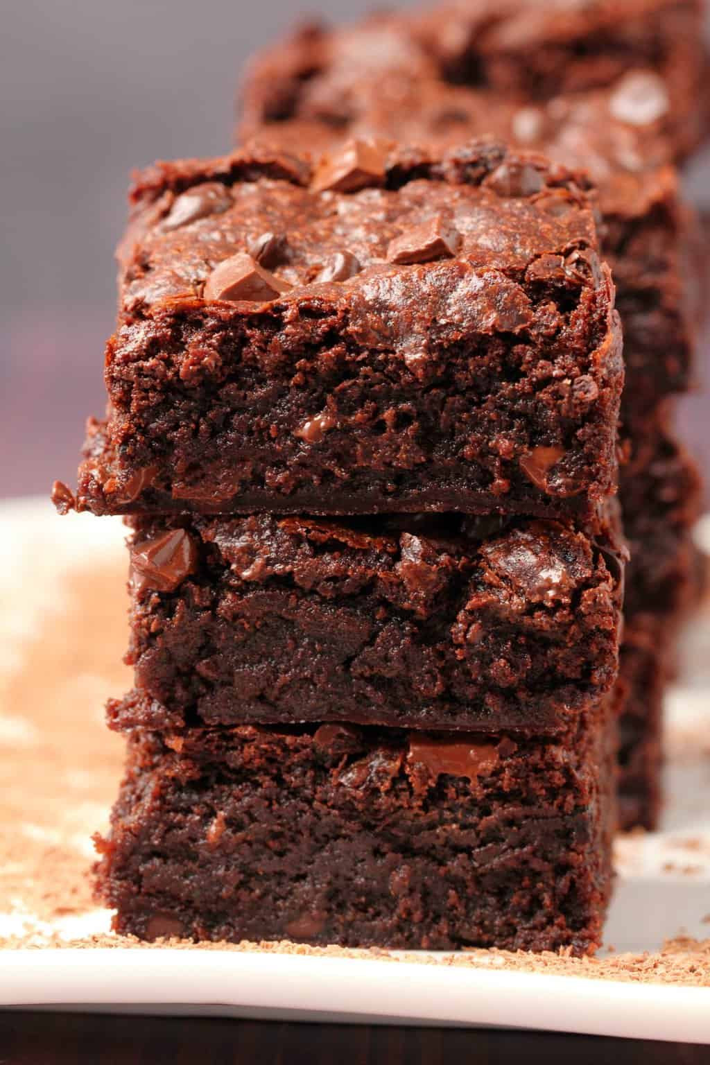 The Best Vegan Chocolate Brownies Loving It Vegan