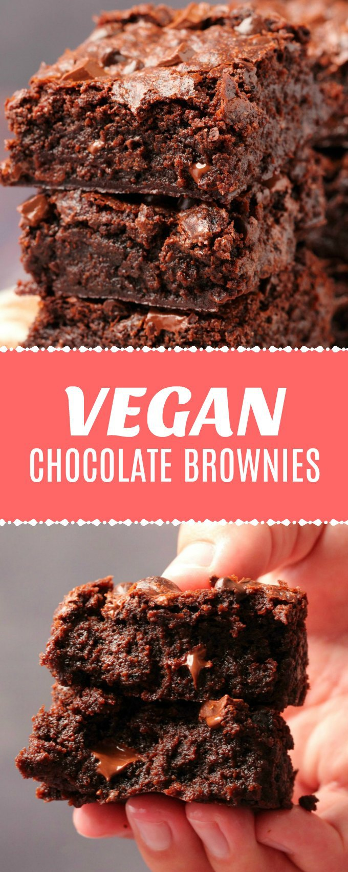 Vegan chocolate brownies that are ultra moist, mega chocolatey, dense, fudgy and everything a chocolate lover could dream of! #vegan #dairyfree | lovingitvegan.com