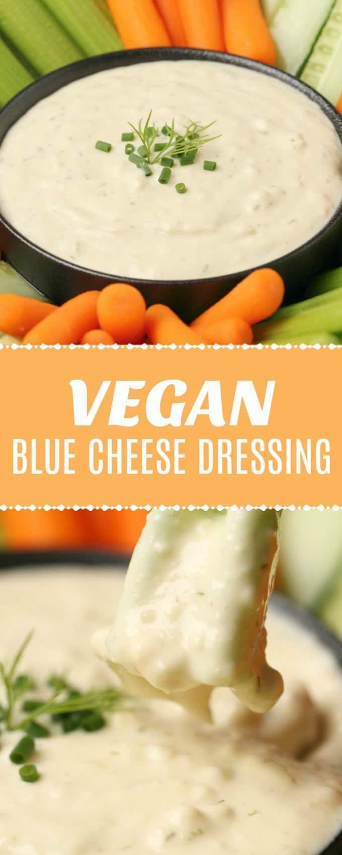 Vegan Blue Cheese Dressing