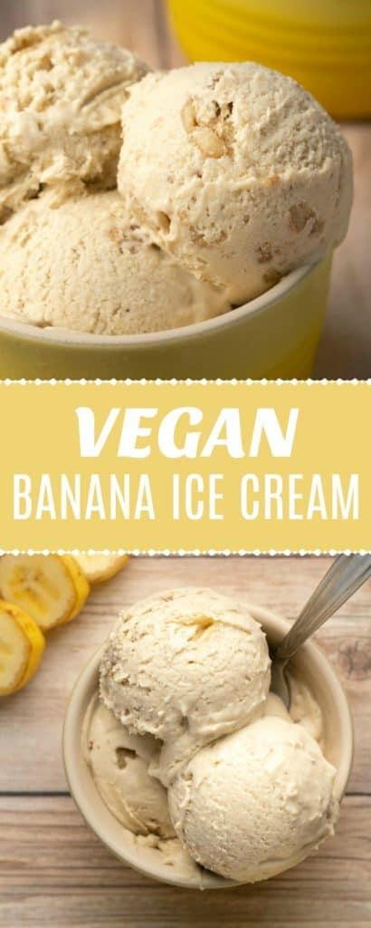 Vegan Banana Ice Cream