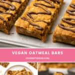 Vegan Oatmeal Bars