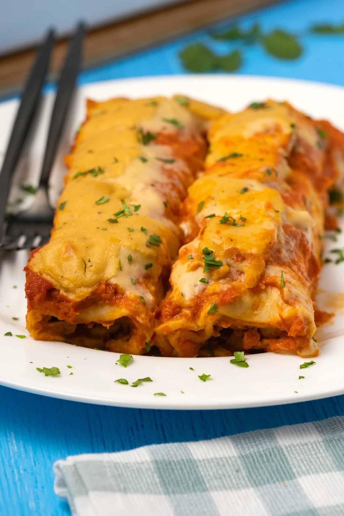 Vegan Enchiladas Loving It Vegan