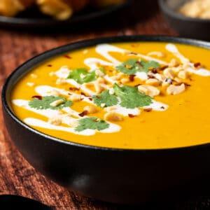 Thai butternut squash soup category image soups