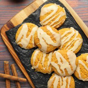 Vegan pumpkin cookies category image Fall Recipes