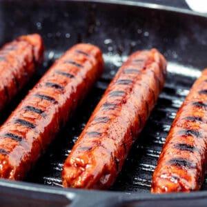 Vegan sausages category image seitan