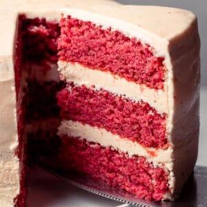 Vegan strawberry cake category image valentine's day